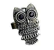 Retro Lovely Owl Ring