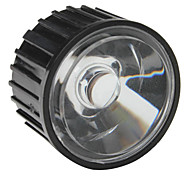 20mm 60° Optical Glass Lens with Frame for Flashlight, Spot Light