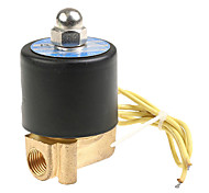12v dc 0,25 polegadas válvula solenóide elétrica para água, ar diesel