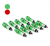 XD10-1 10mm Signal Light Lamp (DC 24V 10-Piece Pack)