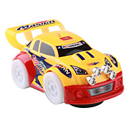 Battery Powered Auto-Run Flashing Wheels Racing Car Toy (3xAA)