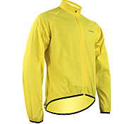 SANTIC Men's Cycling Tops / Jacket Long Sleeve Bike Spring / Summer / Autumn Waterproof / Quick Dry / Windproof Yellow / GreenM / L / XL