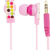 burbujas de color Kanen in-ear auriculares magnética