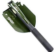 Universal Shovel with Anti-Skidding Grip (HRC45-50 Hardness, Green)