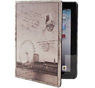 Retro Style PU Leather Case with Stand for iPad 2/3/4