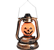 halloween zucca arancione lanterna luce con effetti sonori (3xAA)