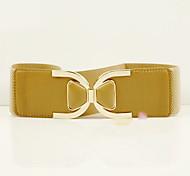 Bowknot Elastic Waist Belt(68*6CM)