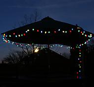 Solar 100-LED Colorful Light Outdoor Fairy Lights Christmas Decoration Lamp