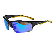 Kalo Cycling Glasses with Extra 3 Lens(TR90 Frame and REVO PC Len)