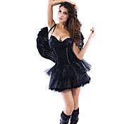 Adult Sexy Dark Angel Fancy Halloween Dress Costumes(1 Pieces)