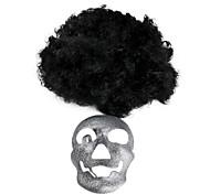 кудрявый парик маске установлены для Хеллоуин костюм участника
