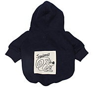 Lovely Squirrel Pattern Hoodie for Dogs (Blue,XS-L)