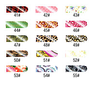 16 PCS Nail Art Likable Full Cover Stickers Manicure