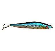 Hard Bait Minnow 0.5 Meter Floating Plastic Fishing Lure 100MM 10G(1pc/Color Assorted)