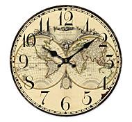 Country World Wall Clock