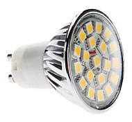 4W GU10 Spot LED MR16 20 SMD 5050 400 lm Blanc Chaud AC 100-240 V