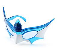 LED lampeggiante occhiali maschera di Batman per i bambini (a colori assortiti)
