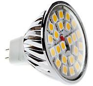 Foco de Luz Dirigida LED de Luz Blanca Tibia de 3000-3500K MR16 5W 450-550Lm (12V)