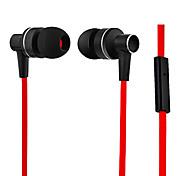 kanen comodidad sonido real en la oreja del auricular w / mic para el iphone 6 iphone 6 más