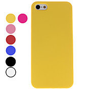 Dull Polish Style Hard Case for iPhone 5/5S (Assorted Colors)