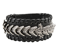 Z&X®  The Chinese Dragon Leather Bracelet