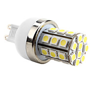 6W G9 LED Corn Lights T 30 SMD 5050 lm Natural White AC 220-240 V