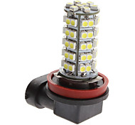 H11 3W 68-SMD 240-270Lm Natural White Light LED-lamp voor in de auto Fog Lamp (12V)