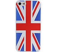 British National Flag Pattern Soft Case for iPhone 5/5S