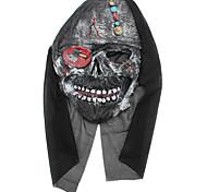 Diabo máscara Leatherface Screaming Traje para Festa de Halloween (estilo aleatório)