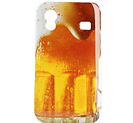 Beer Pattern Hard Case for Samsung Galaxy Ace S5830