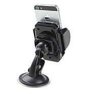 Flexible Navigation WindShield Mount for iPhone 5 and Others (Black)