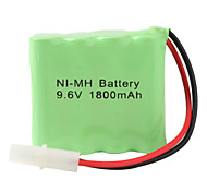 Double Layer Ni-MH AA Battery with 6.2 Port (9.6v, 1800 mAh)
