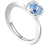 Exquisite Austrian Crystal Ring