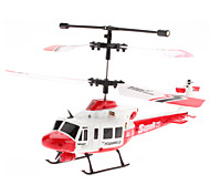 3,5-channle Gyro Remote Control Helicopter (Geel, Model: U806)