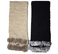 Deniso-Lapin Woven Hand sciarpa Snowproof e antivento