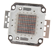DIY 50W 2000-2500lm Luz roja 620-625nm Square Módulo integrado LED (22-24V)