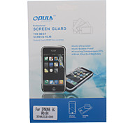 Screen Protector with Cleaning Cloth for iPhone 5