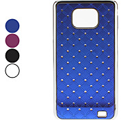 Starry Sky Pattern Hard Case with Diamond for Samsung Galaxy S2 I9100
