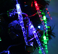 7M 30-LED Icicle-Shaped Colorful Light LED Strip Fairy Lamp for Festival Decoration (220V)