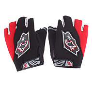 Half-finger Sports Gloves(Blue/Red)