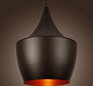 Artistic Pendant Light in Black Shade