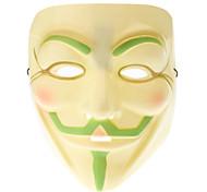 Glow-in-dark Mask of V for Vendetta