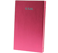 "SSK 2,5 ""USB 2.0 Box SATA HDD Hard disk esterni"