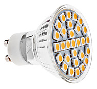 3W GU10 Spot LED MR16 29 SMD 5050 170 lm Blanc Chaud AC 100-240 V