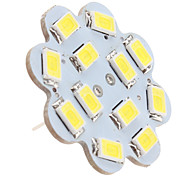 G4 6W 12 SMD 5630 560 LM Natural White LED Ceiling Lights DC 12 V