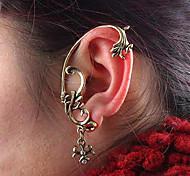Frauen vintage Quasten Ohrring