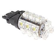 3157 2.5W 18-LED 90LM Lâmpada Branco Natural para o carro do freio da lâmpada (12V)