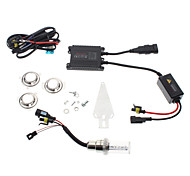 H6 8000K HID Xenon Super Vision Moto Kit White Light Lampe frontale