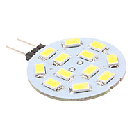 2W G4 LED Bi-pin Lights 12 SMD 5630 170 lm Natural White DC 12 V