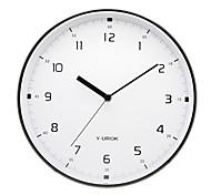 """11.5 """"h elegante relógio de parede de metal em 9021"""